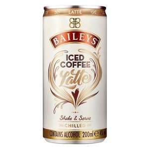 Baileys Iced Coffee Latte/Mocha (and more) 4 for £5 at Morrisons