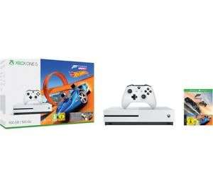 Microsoft Xbox One S 500GB White Console + Forza Horizon 3 + Hot Wheels £195.49 with code from Currys pc world via eBay