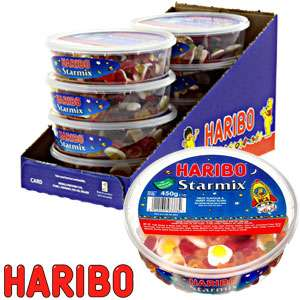 Haribo Star Mix (Case of 8 x 450g Tubs) at Home Bargains