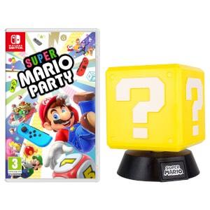 Super Mario Party + Question Block Lamp £49.99 @ Nintendo Store