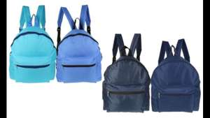 Back to School RuckSack Various Colours £2.98 at Groupon Uk with FrEe Delivery
