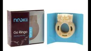 Fancy a little NooKii this Weekend. Vibrating Ring only £2.98 at Groupon Uk with Free Delivery Code