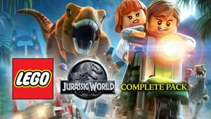 LEGO Jurassic World Complete Pack. 3.99/3.59 with code. PC @ FANATICAL