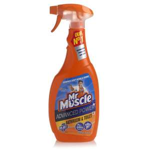 Mr Muscle 750ml Advanced Power Bathroom & Toilet cleaner now 75p @ Wilko ( instore only )