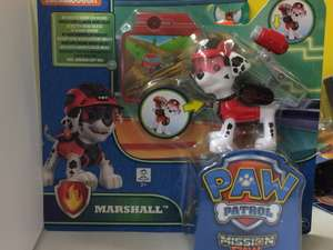 Paw Patrol Action Mission Pack Pup £5 instore @ Tesco Cumbernauld