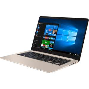 "Asus VivoBook S510UQ 15.6"" Laptop - Gold £675 with code @ AO.com"