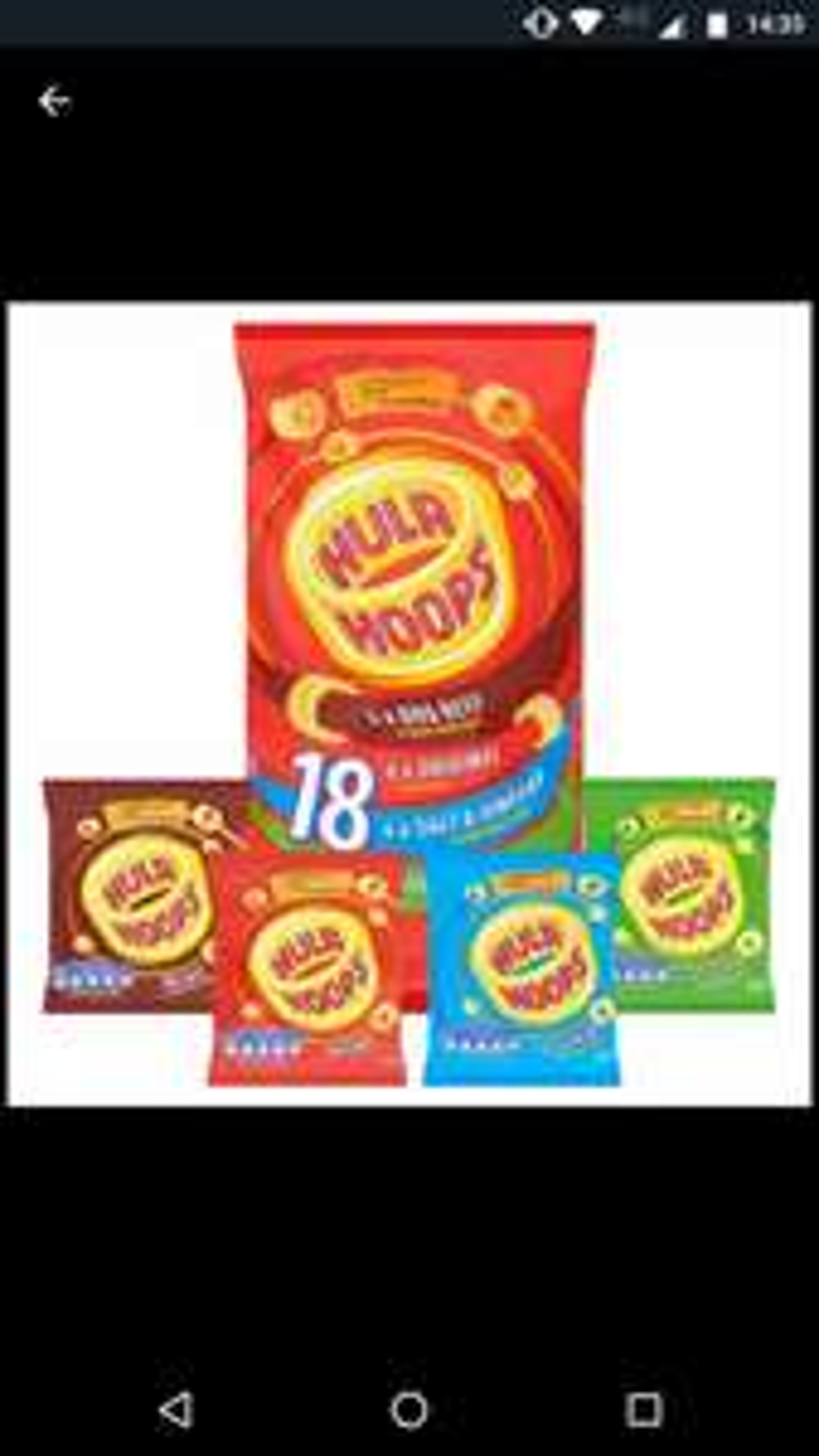 18pk Variety Hula Hoops £1 @ Farmfoods