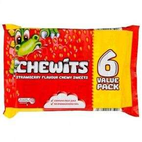 Chewits - 6 Packs for £1 @ Poundland