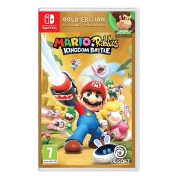 Mario + Rabbids Kingdom Battle Gold Edition (Nintendo Switch) £29.99 @ Smyths