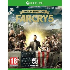 Far Cry 5 Gold Edition Xbox One Game @ 365Games