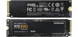 Samsung 970 EVO 500GB M.2 PCIe NVMe SSD/Solid State Drive with FREE The Crew 2 and ScanFX M.2 SSD Cooler £152.39 (+£4.79 c&c) @ Scan
