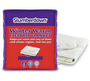 Electric Blanket - Kingsize £19.99 @ Argos (Free C&C)