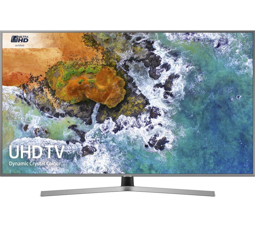 "Samsung UE43NU7470 43"" Smart 4K Ultra HD HDR LED TV @ Currys for £499"