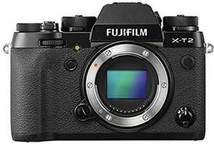 Fujifilm X-T2 Body Only £779.89 @ Amazon (discount deducted at checkout)