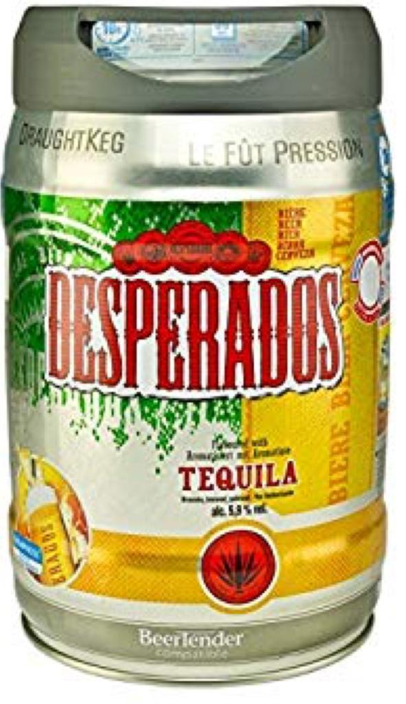 Desperados Keg (5 litres) £12 @ Asda Barnstaple