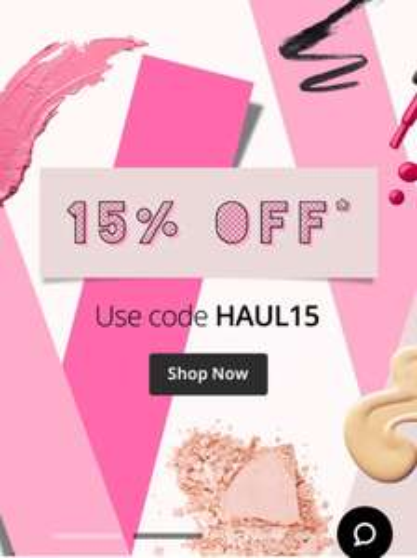 15% off Feel Unique