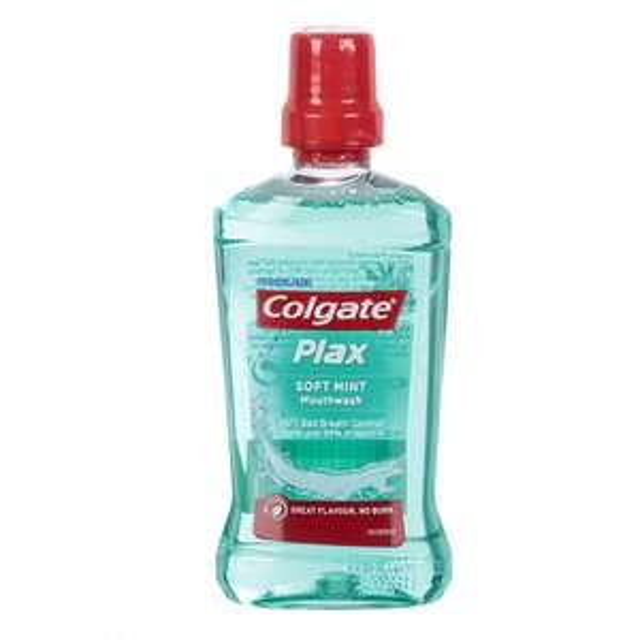 Colgate Plax Soft Mint Travel Mouthwash - 60ml at Robert Dyas for 25p (free C&C)