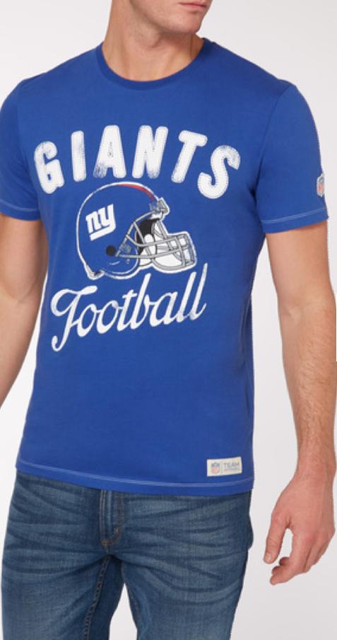 25% all NFL t-shirts at Sainsburys Tu Online