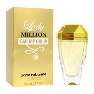 Paco Rabanne Lady Million Eau My Gold Eau De Toilette 80ml Spray £37.35 @ The Fragrance Shop - Code PERFUME17 - Free Delivery