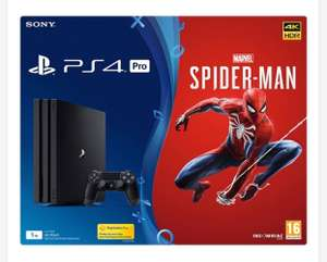 PS4 PRO 1TB with SPIDER-MAN BUNDLE £349.99 @Smyths