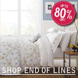JustLinen Great Deals to be had on premium bedding in Clearance plus extra 15% off some lines with code SUMMER15