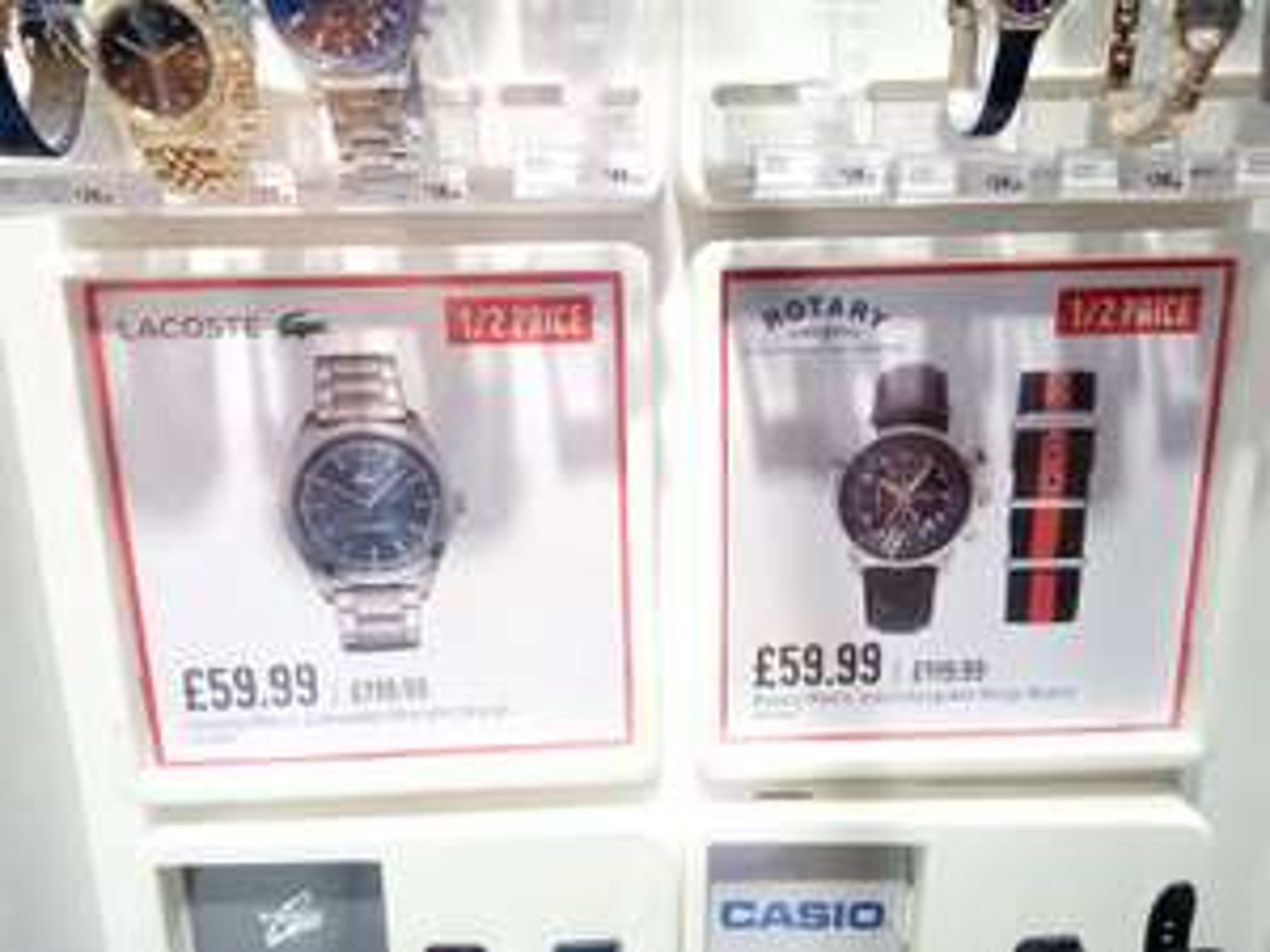 Lacoste Men's Edmonton Bracelet Watch @ Argos for £59.99 (online & instore)