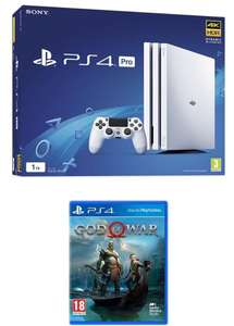 SONY PlayStation 4 Pro (White) & God Of War Bundle £349.99 @Currys + FREE DELIVERY