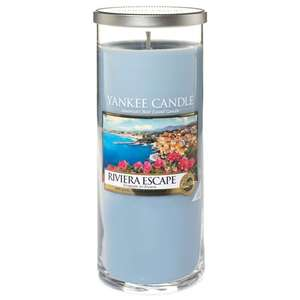 Large Yankee Candle Riviera Escape Pillar Candle - Sold by Honey21 / Fulfilled by Amazon - £9.95 Prime / £14.44 non-Prime
