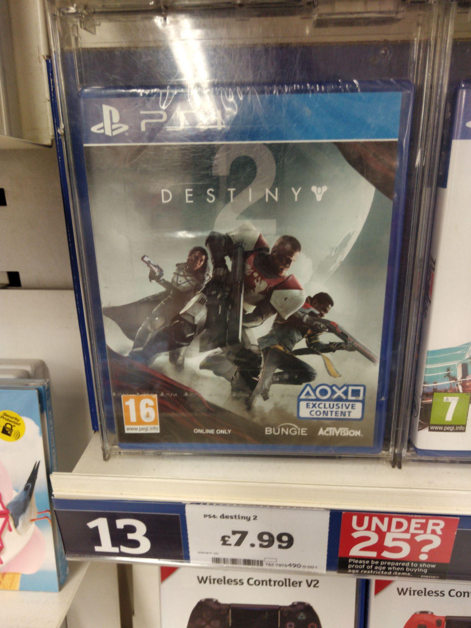 Destiny 2 - Sainsbury's in-store (PS4 / XBOX) - £7.99