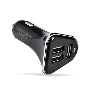 Betron R28 Premium 3 USB Port Car Charger for iPhone, iPad, iPod, Samsung, Nokia, Motorola, HTC etc - Sold by Betron / Fulfilled by Amazon - £5.99 Prime / £10.48 non-Prime