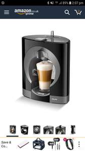 Nescafe Dolce Gusto Coffee Machine - £53.99 - Sold and Despatched by JTF via Amazon