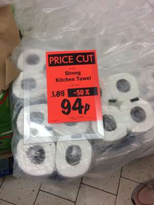 4 pack kitchen roll Lidl only 94p instore