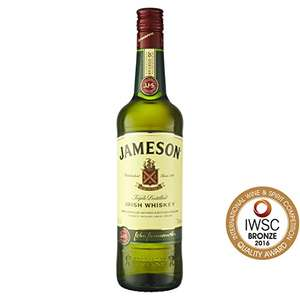 Jameson Irish Whiskey, 70 cl @ Amazon - £17 Prime / £21.49 non-Prime