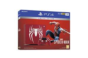 Limited Edition Spiderman Sony Playstation Slim 1TB Console - £329.99 @ Amazon