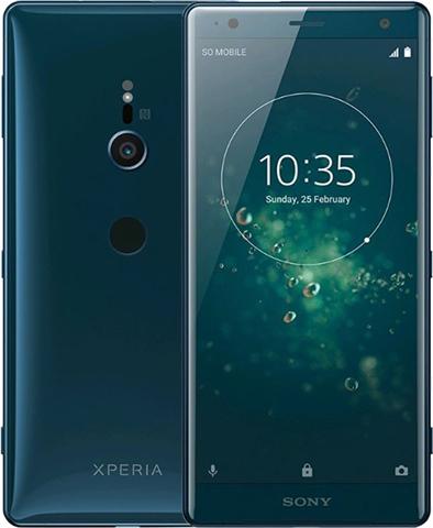 Sony Xperia XZ2 (4GB+64GB) Deep Green, O2/Vodafone/EE Grade A - £340 @ CEX