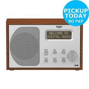 Bush Retro Wooden DAB / FM Radio @ Argos eBay £28.94 delivered