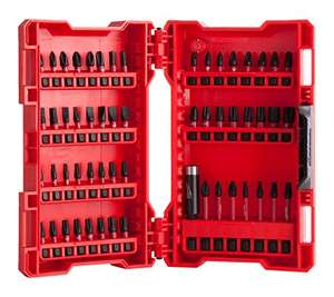 Milwaukee Shockwave Impact Driver Bit Set (56 piece) £18 @ Amazon Prime (£22.99 non Prime)