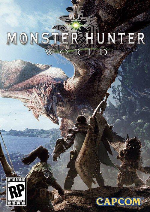 Monster Hunter World PC + DLC  - Digital Copy £34.99 CDKeys