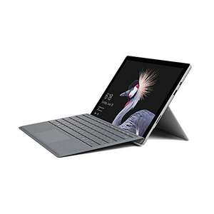Microsoft Surface Pro 12.3-Inch Laptop with Platinum Type Cover - (Silver) (Intel i5-7300U, 8 GB RAM, 128 GB SSD, Windows 10 Pro) £775 @ Amazon.de delivered