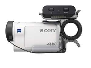 SonyFDRX3000RFDI.EU R + AKA-FGP1 Ultra HD 4K Action Cam with Balanced Optical SteadyShot, New Live-View Remote and Finger Grip - White £321 @ Amazon.de delivered