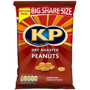 KP Dry Roasted Peanuts 450g 49p at B&M