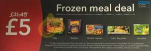 Co-op Frozen meal deal £5 - Starts on the 22/8