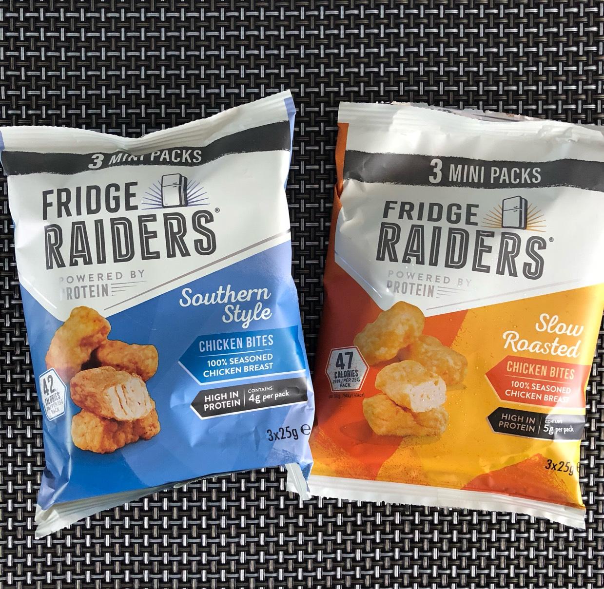 Fridge Raiders 3 x mini packs 50p in ASDA