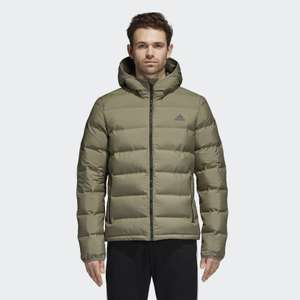 Men's Adidas down jacket reduced to £58.77 with code and free delivery at Adidas