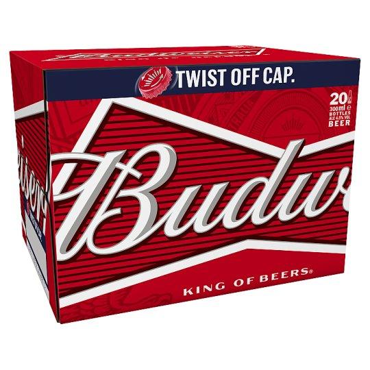 Budweiser 20X300ml Bottles / Becks 20X275ml  / Stella Artois 20X284ml - £10 each @ Tesco from 21st August