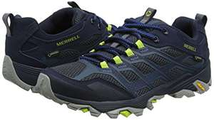 Merrell Men's Moab FST GTX Low Rise Hiking Boots (Blue) Navy 7, 7.5, 9.5, 10.5 and 11.5 £49.99 @ Amazon