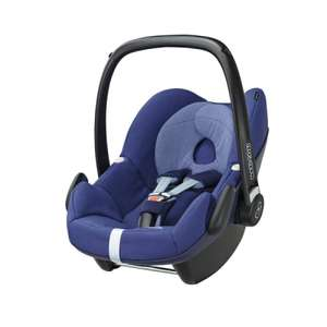 Maxi cosi pebble car seat, river blue £100 delivered @ maxi cosi outlet