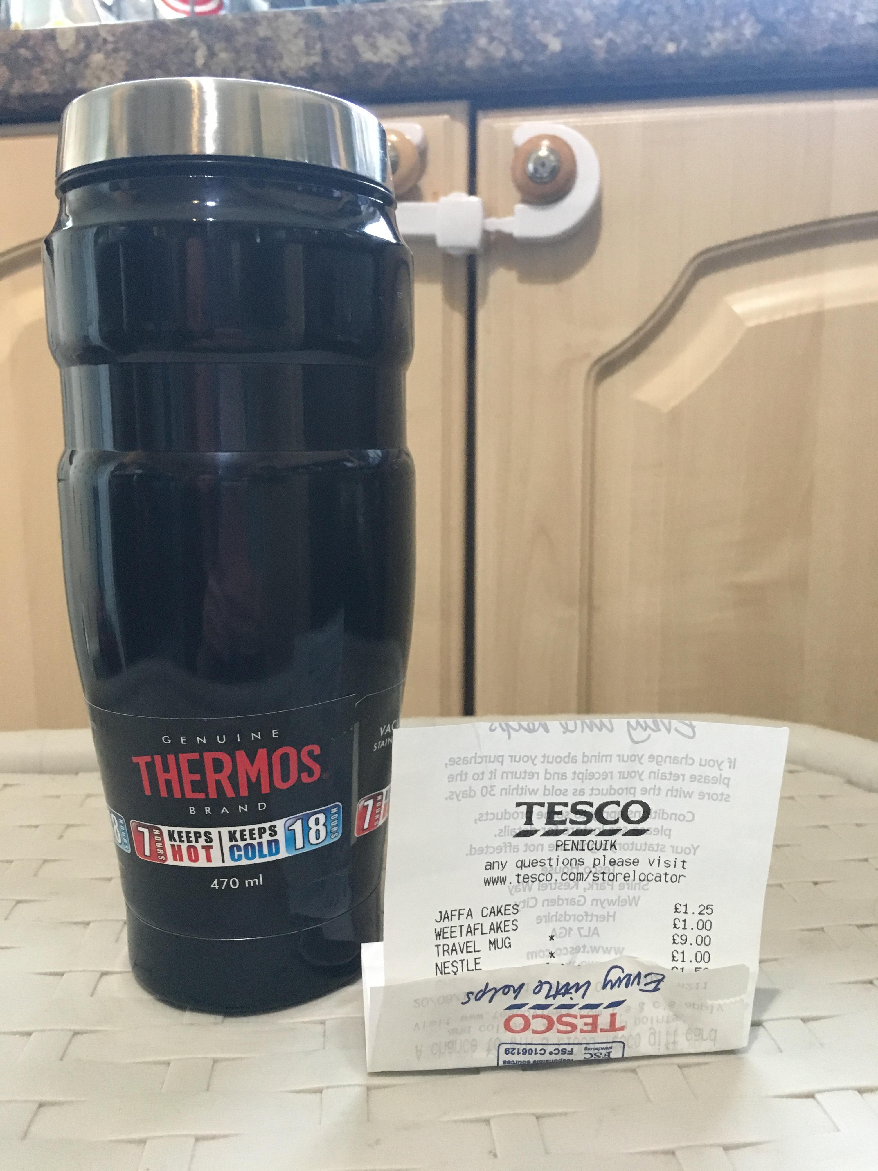 Thermos King Travel Tumbler £9 Tesco (Penicuik)