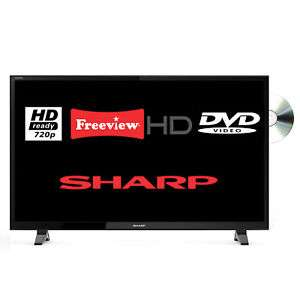 """Refurbished Sharp LC-32DHF4041K Aquos 32"""" LED TV DVD Combi - £128 from the Tesco Ebay outlet"""
