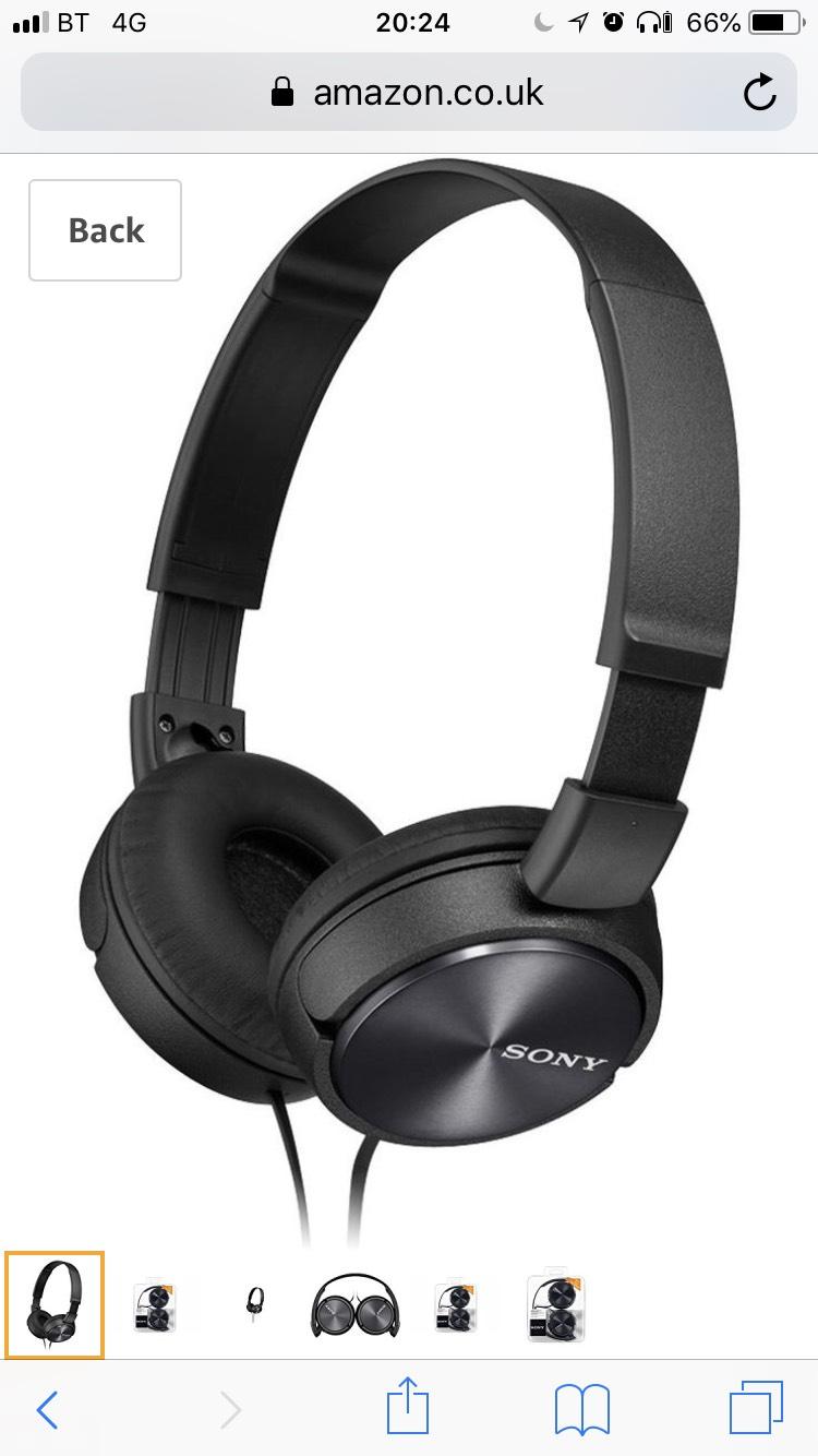 Sony headphones £14.99 @ Amazon (Prime Exclusive)